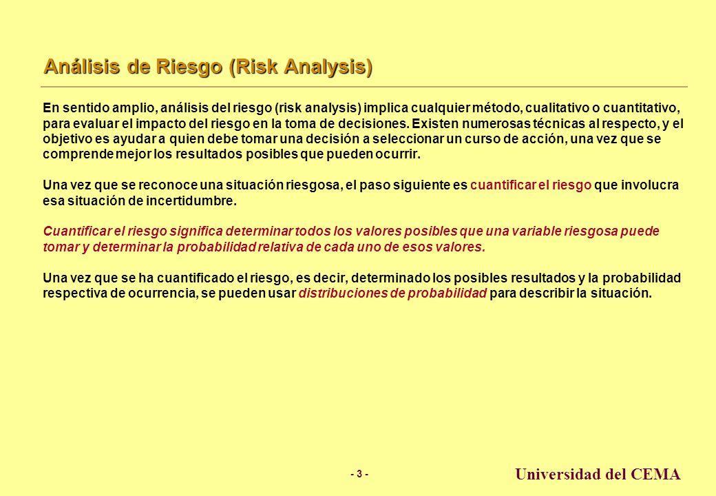 Análisis de Riesgo (Risk Analysis)