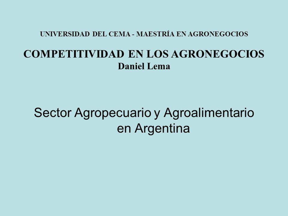 Sector Agropecuario y Agroalimentario en Argentina