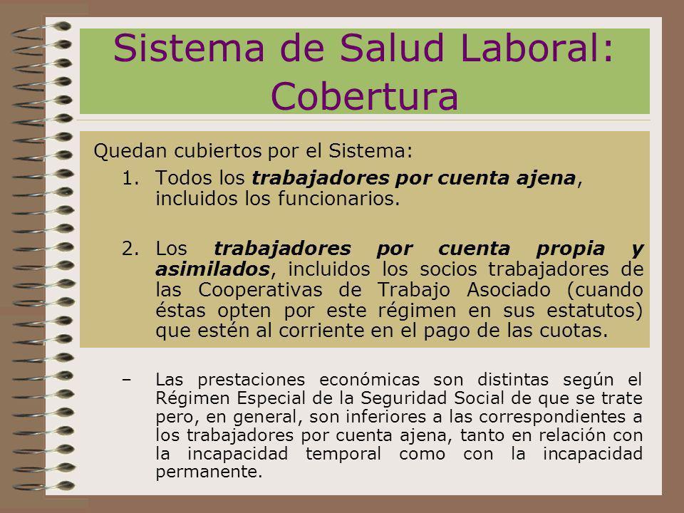 Sistema de Salud Laboral: Cobertura