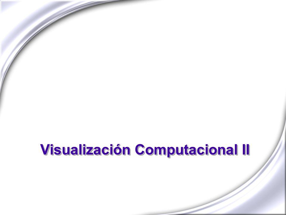 Visualización Computacional II