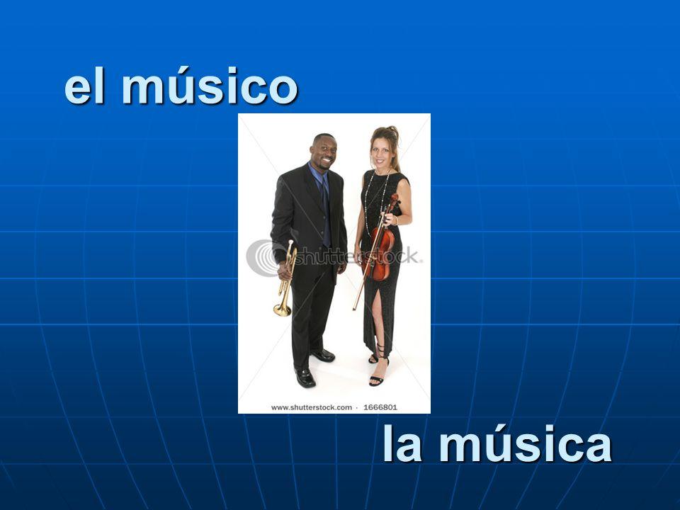 el músico la música