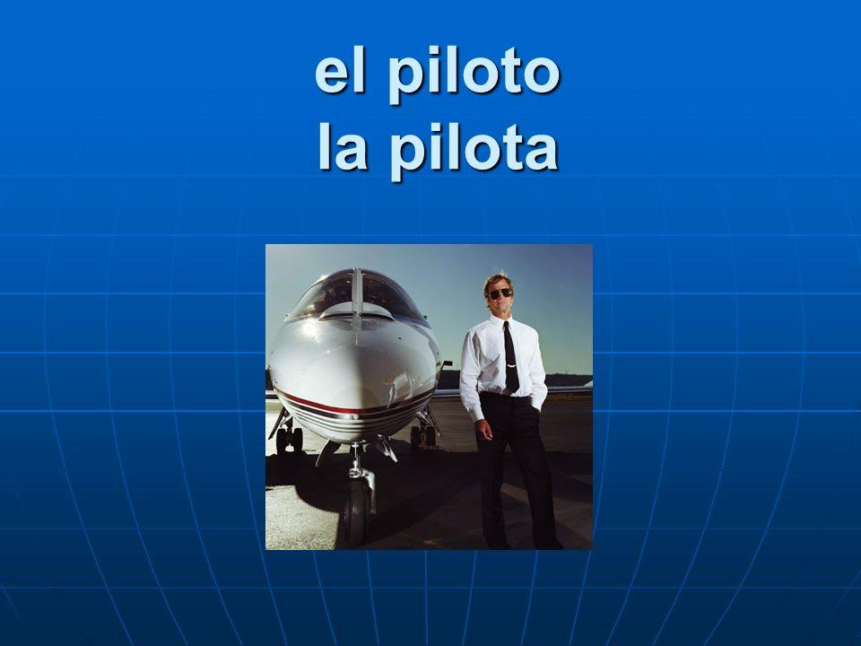 el piloto la pilota