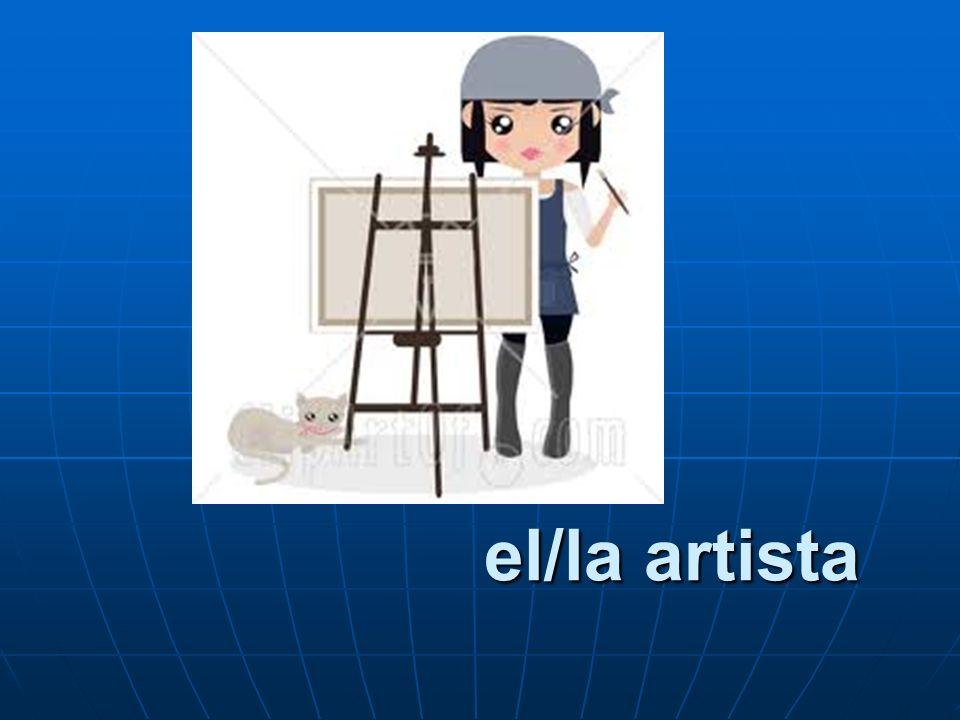 el/la artista
