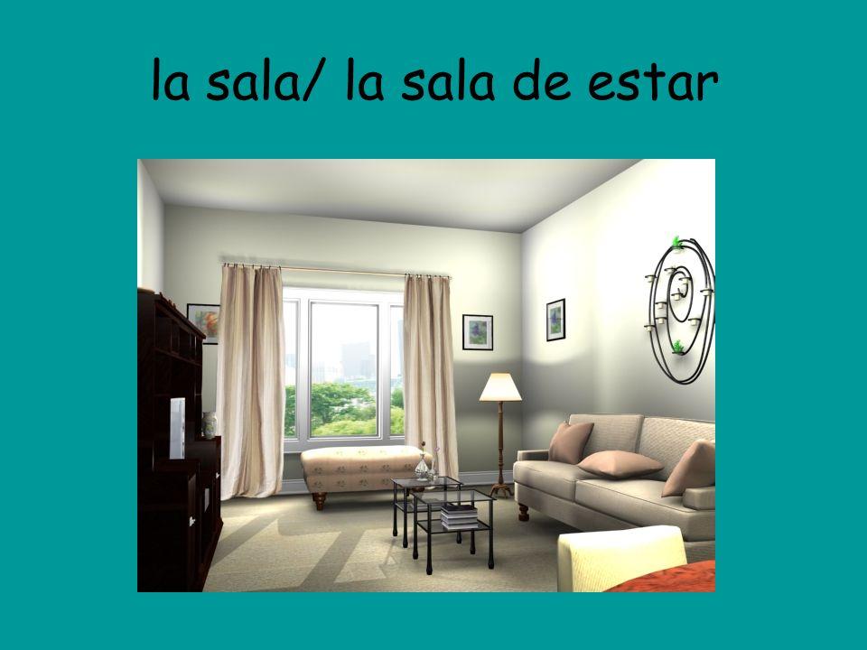 la sala/ la sala de estar