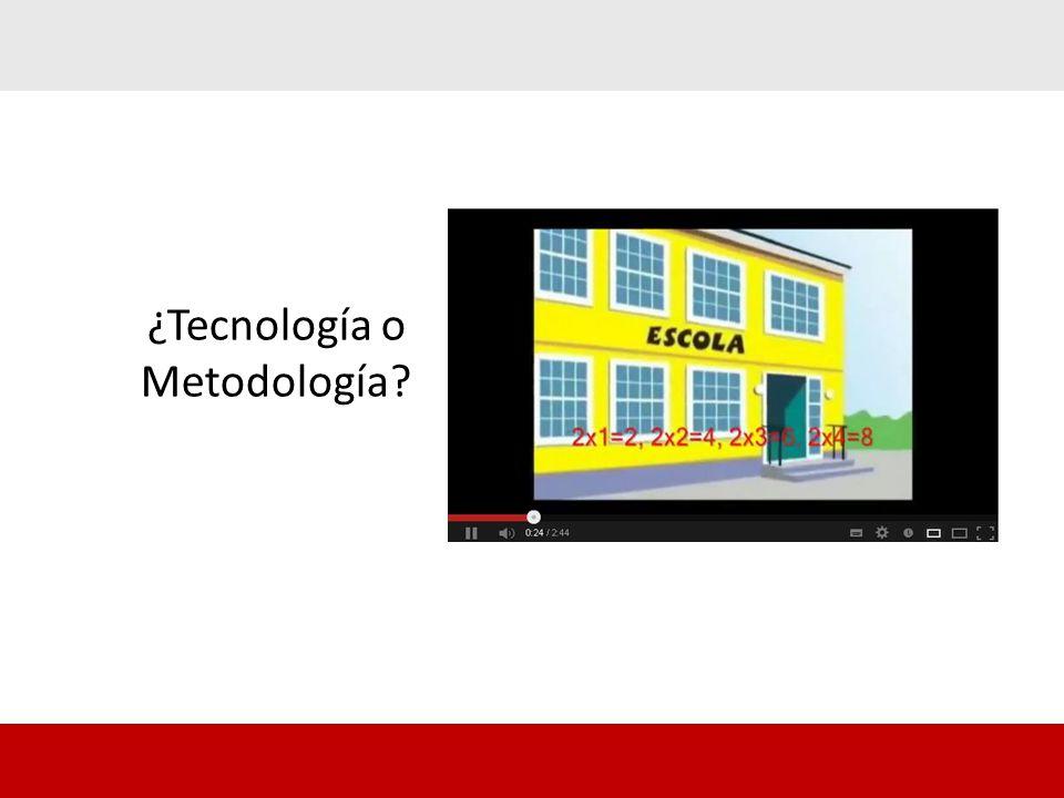 ¿Tecnología o Metodología