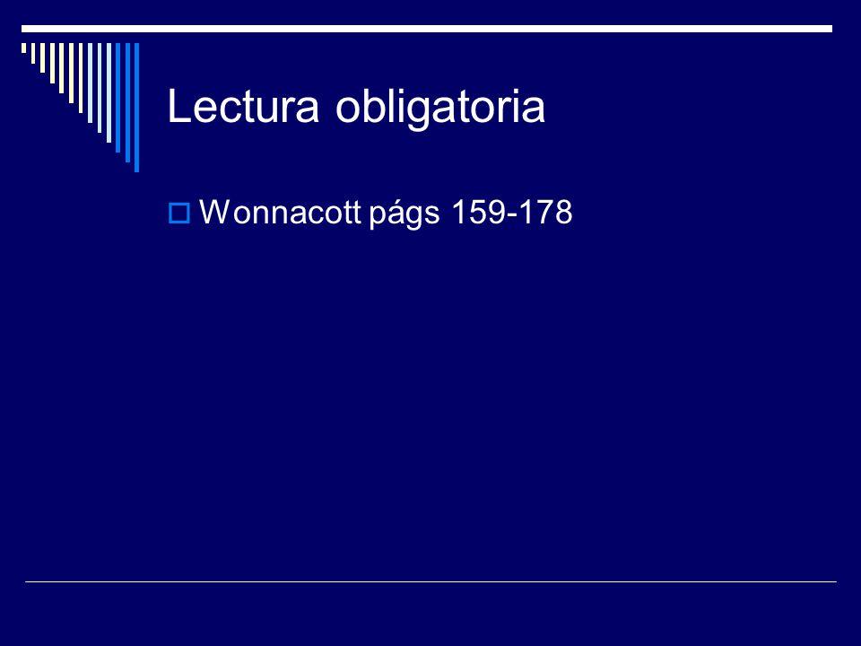 Lectura obligatoria Wonnacott págs 159-178