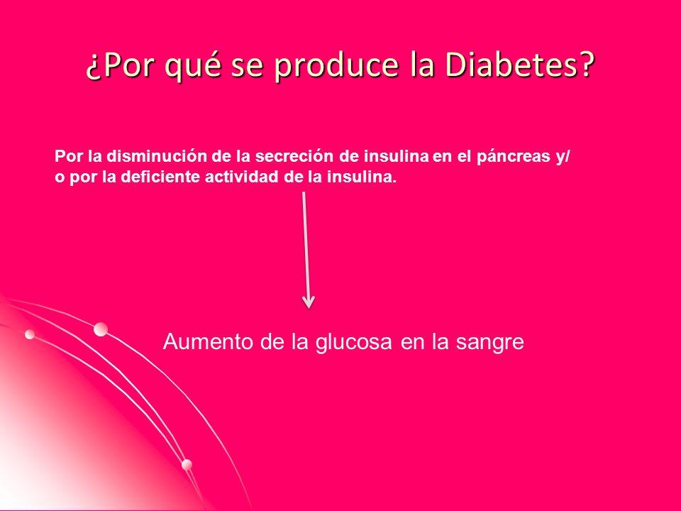 ¿Por qué se produce la Diabetes