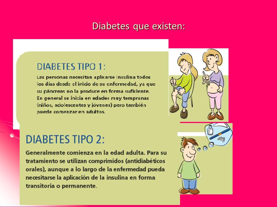 Diabetes que existen: