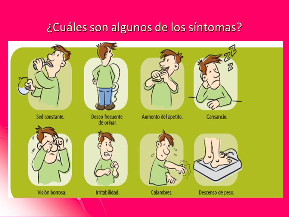¿Cuáles son algunos de los síntomas