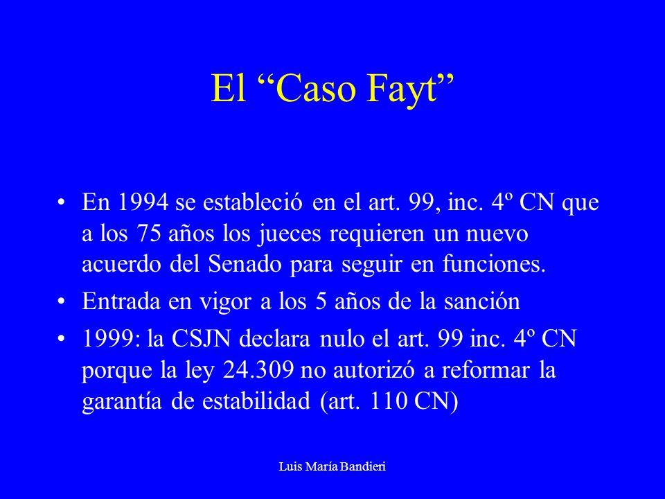 El Caso Fayt