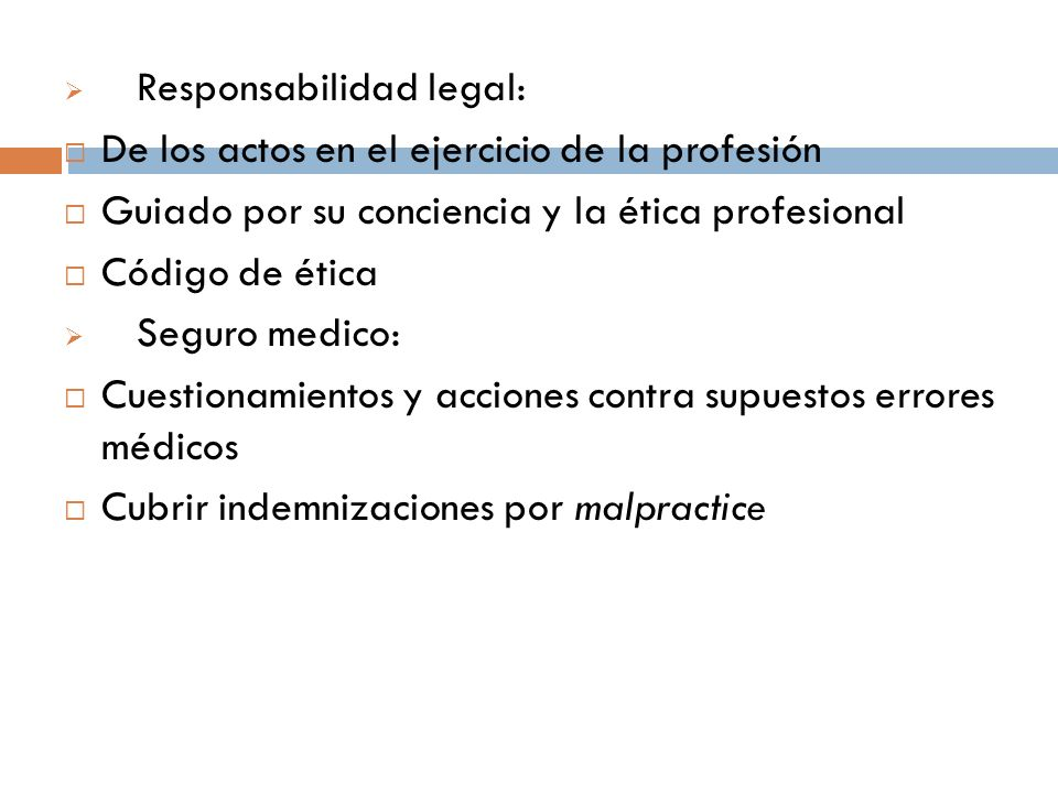 Responsabilidad legal:
