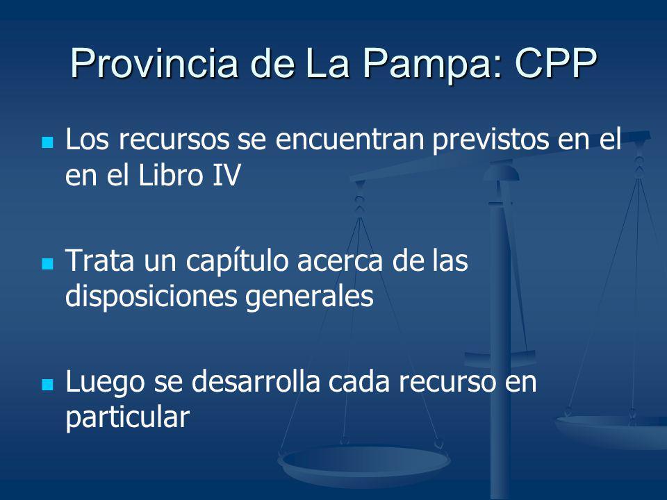 Provincia de La Pampa: CPP
