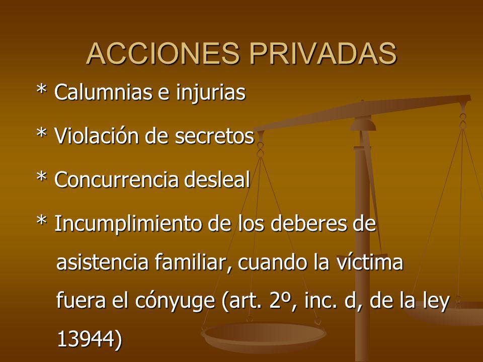 ACCIONES PRIVADAS