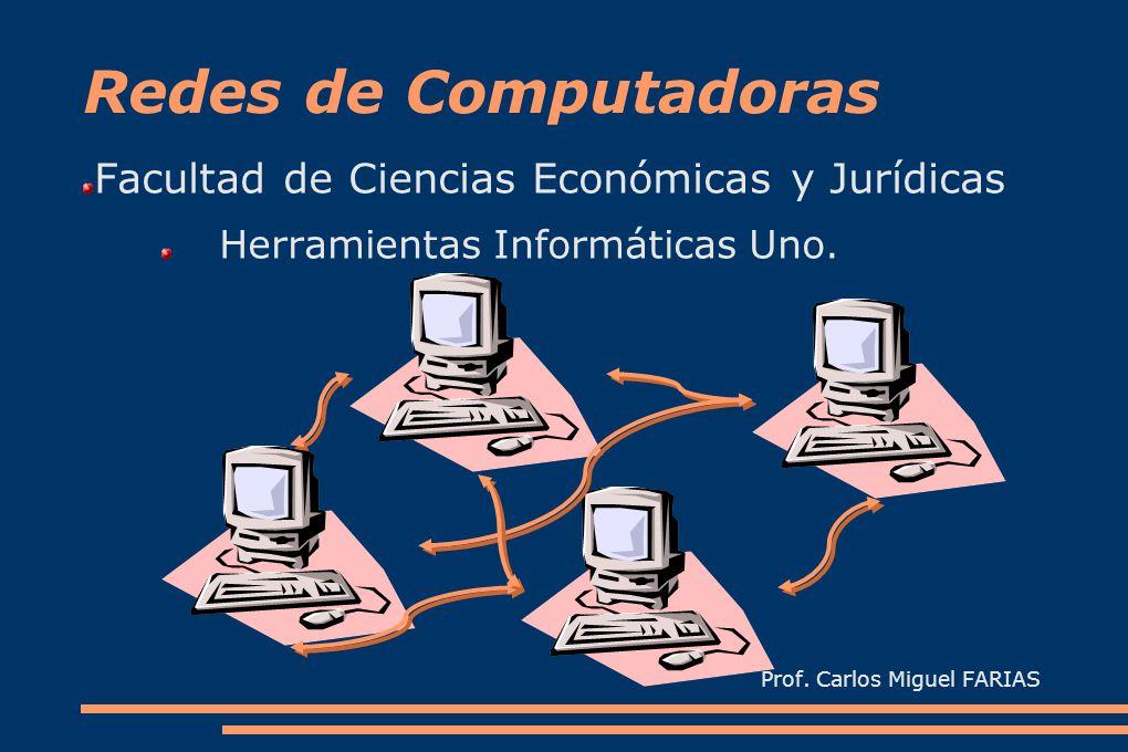 Redes de Computadoras Facultad de Ciencias Económicas y Jurídicas