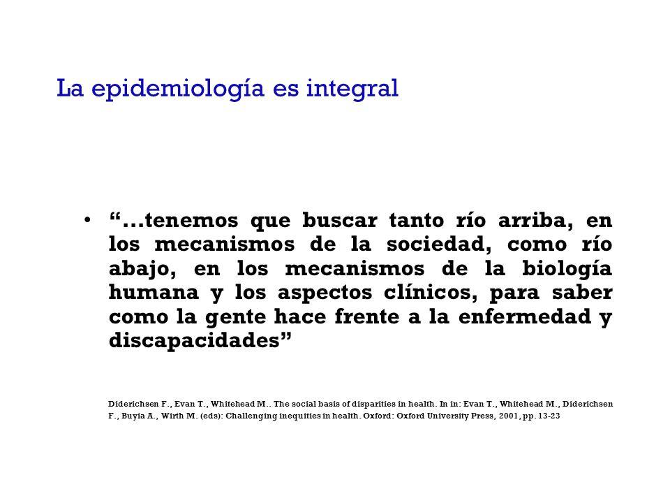 La epidemiología es integral