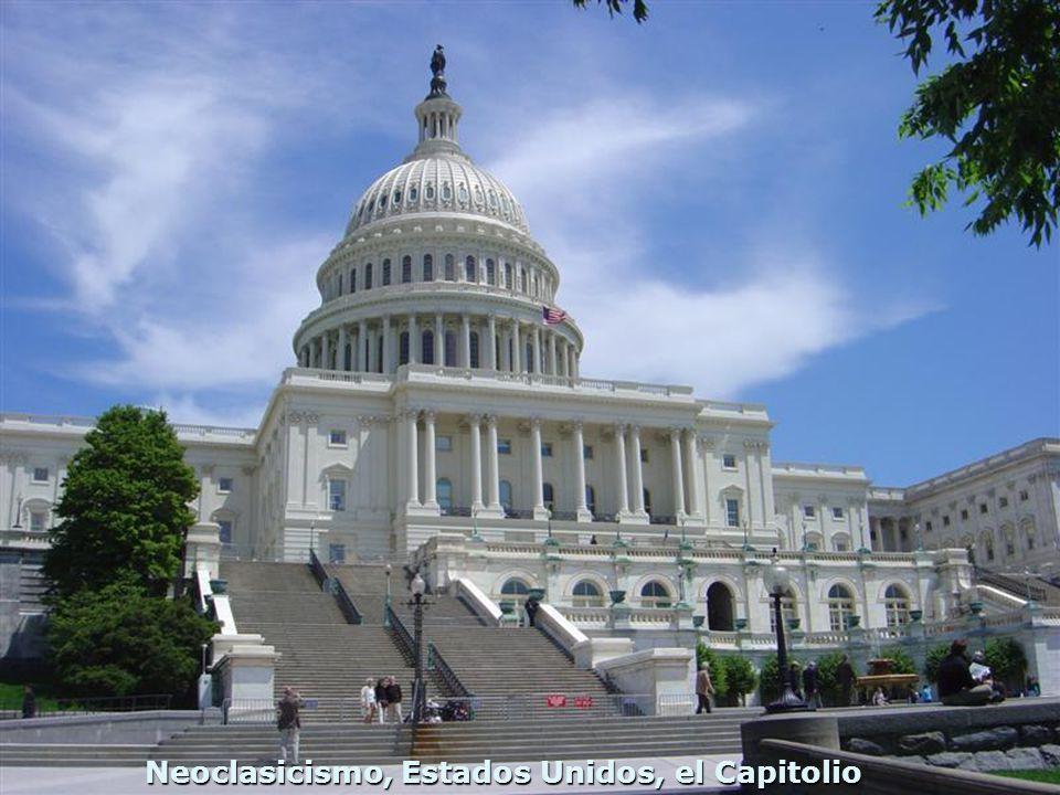 Neoclasicismo, Estados Unidos, el Capitolio