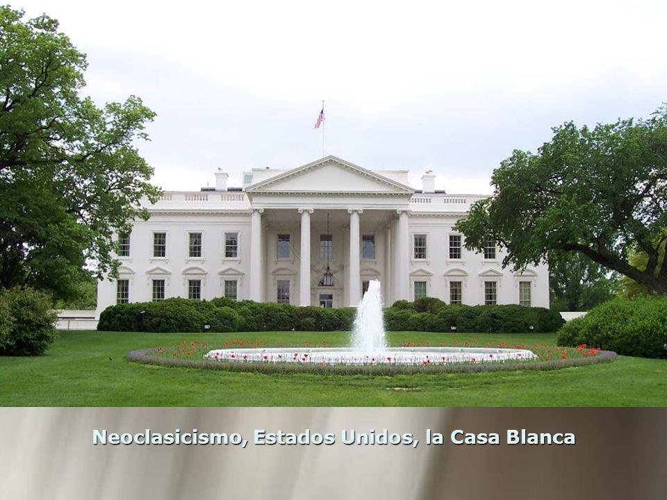 Neoclasicismo, Estados Unidos, la Casa Blanca