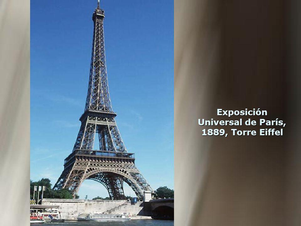 Exposición Universal de París, 1889, Torre Eiffel