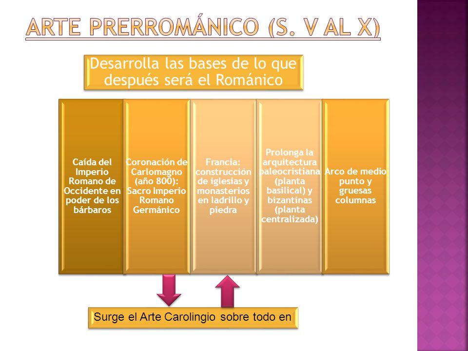 Arte Prerrománico (s. V al X)