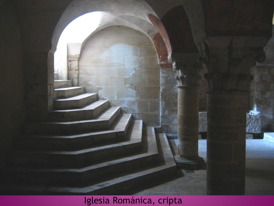 Iglesia Románica, cripta