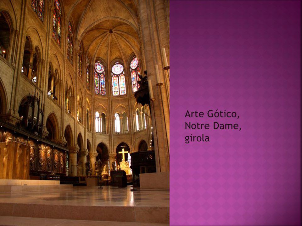 Arte Gótico, Notre Dame, girola
