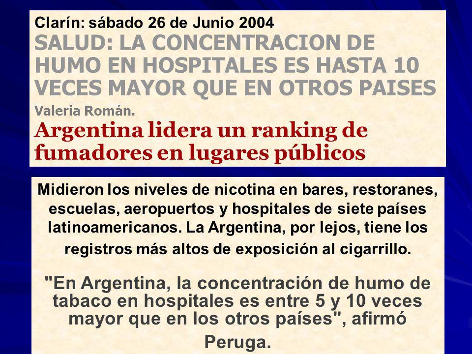 Clarín: sábado 26 de Junio 2004