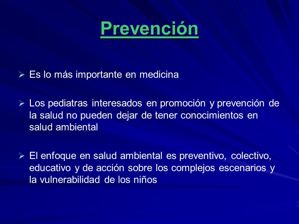 Prevención Es lo más importante en medicina