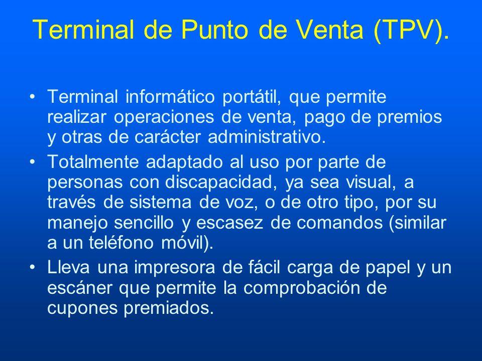 Terminal de Punto de Venta (TPV).
