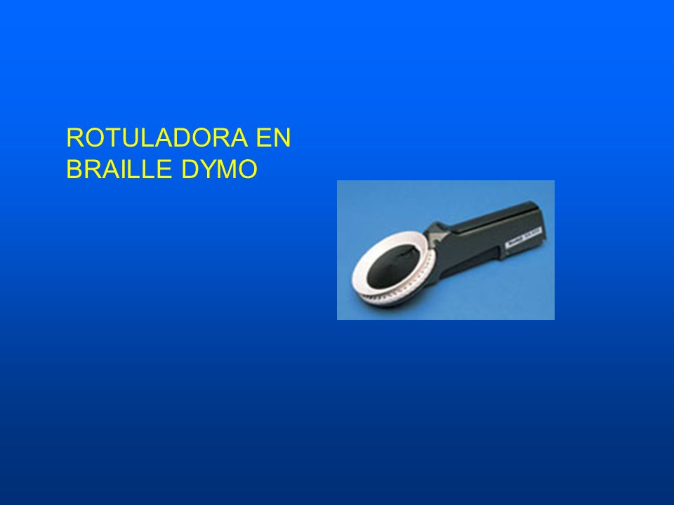 ROTULADORA EN BRAILLE DYMO
