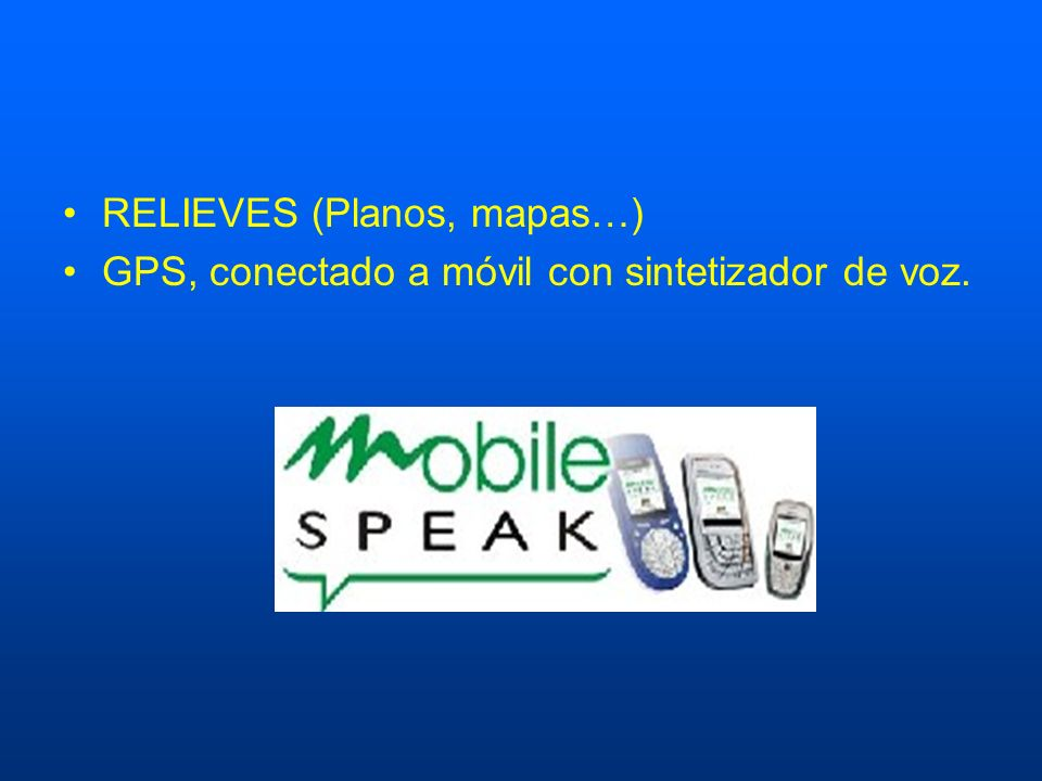 RELIEVES (Planos, mapas…)