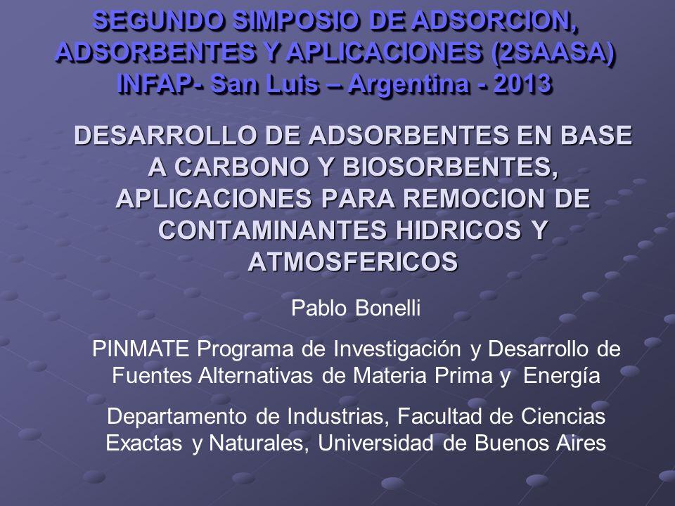 SEGUNDO SIMPOSIO DE ADSORCION, ADSORBENTES Y APLICACIONES (2SAASA)