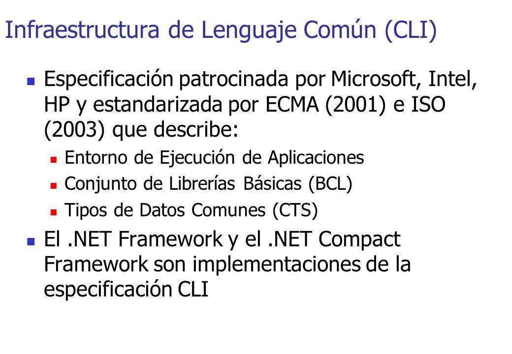 Infraestructura de Lenguaje Común (CLI)