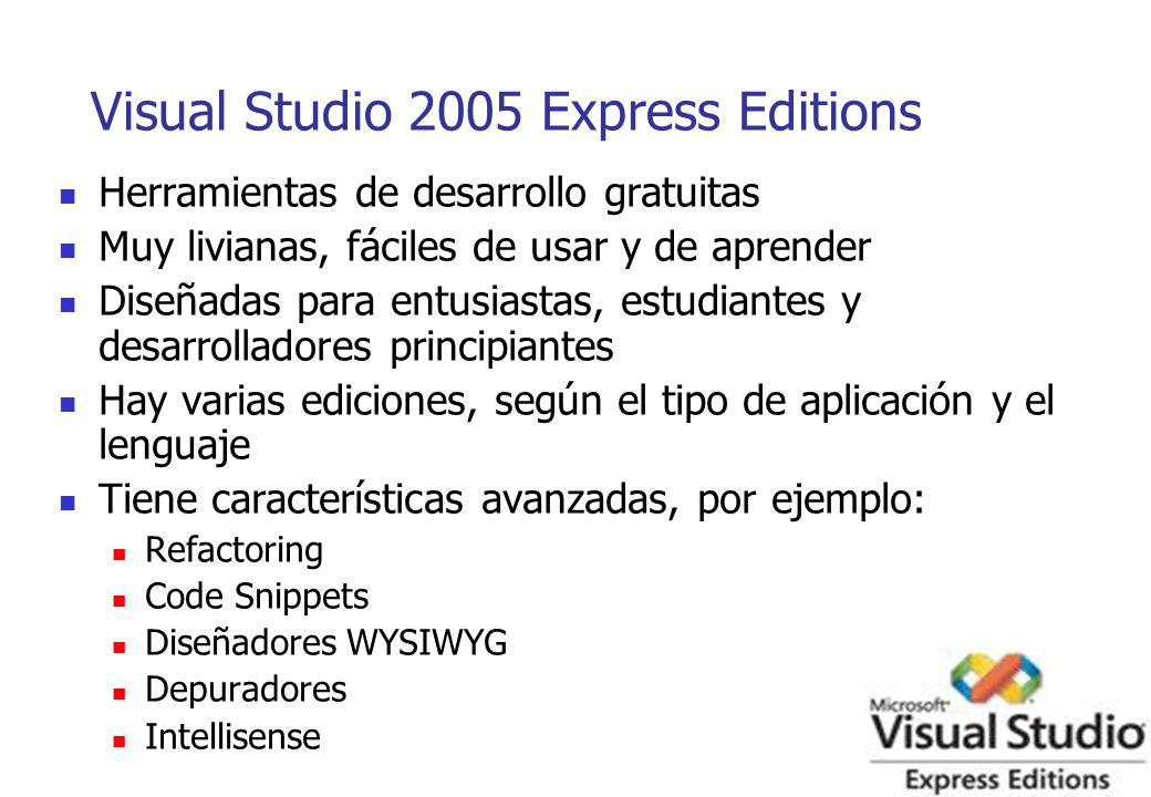 Visual Studio 2005 Express Editions