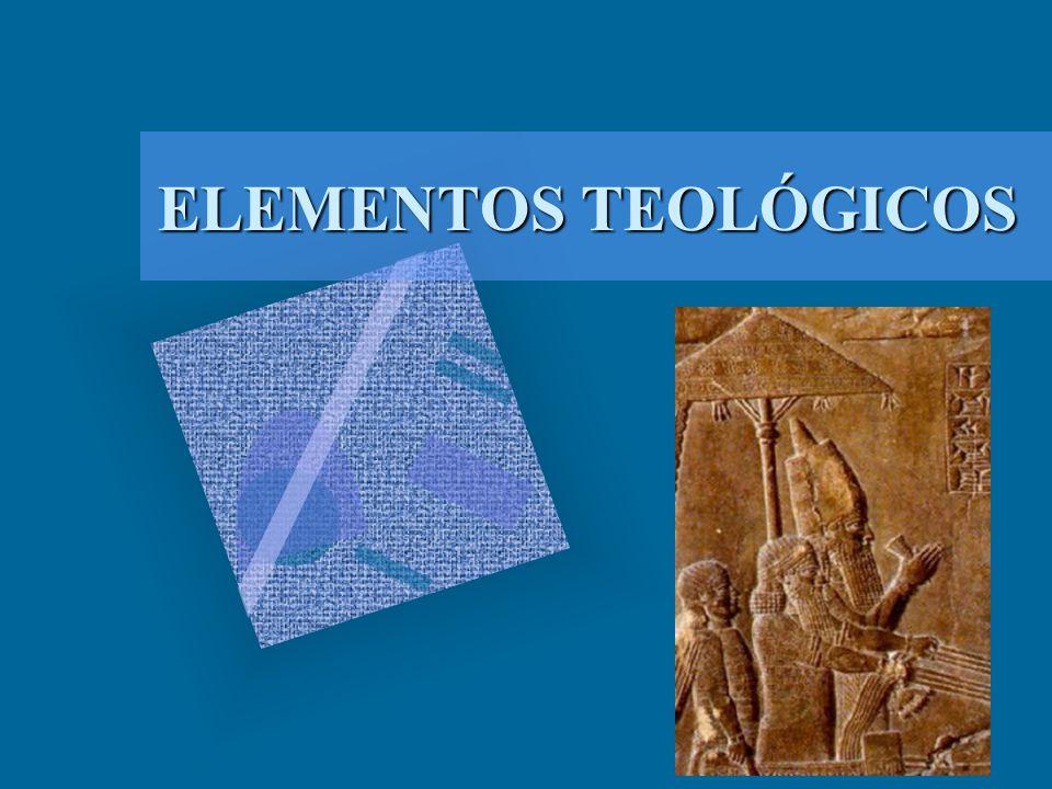 ELEMENTOS TEOLÓGICOS
