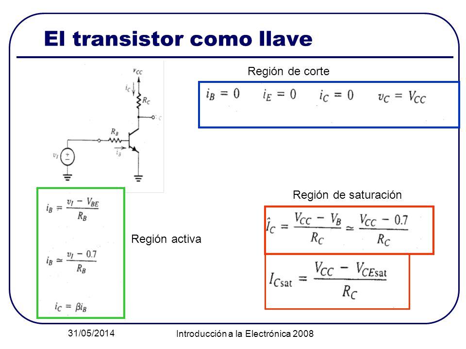 El transistor como llave