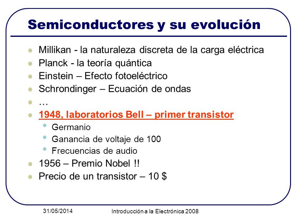 Semiconductores y su evolución