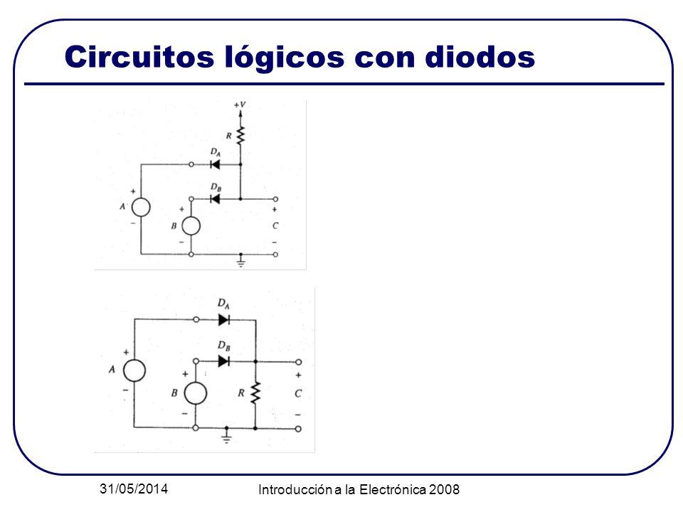 Circuitos lógicos con diodos