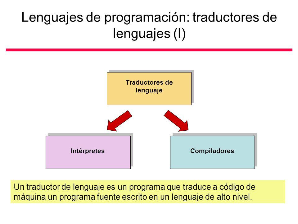 Lenguajes de programación: traductores de lenguajes (I)