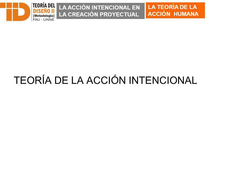 TEORÍA DE LA ACCIÓN INTENCIONAL