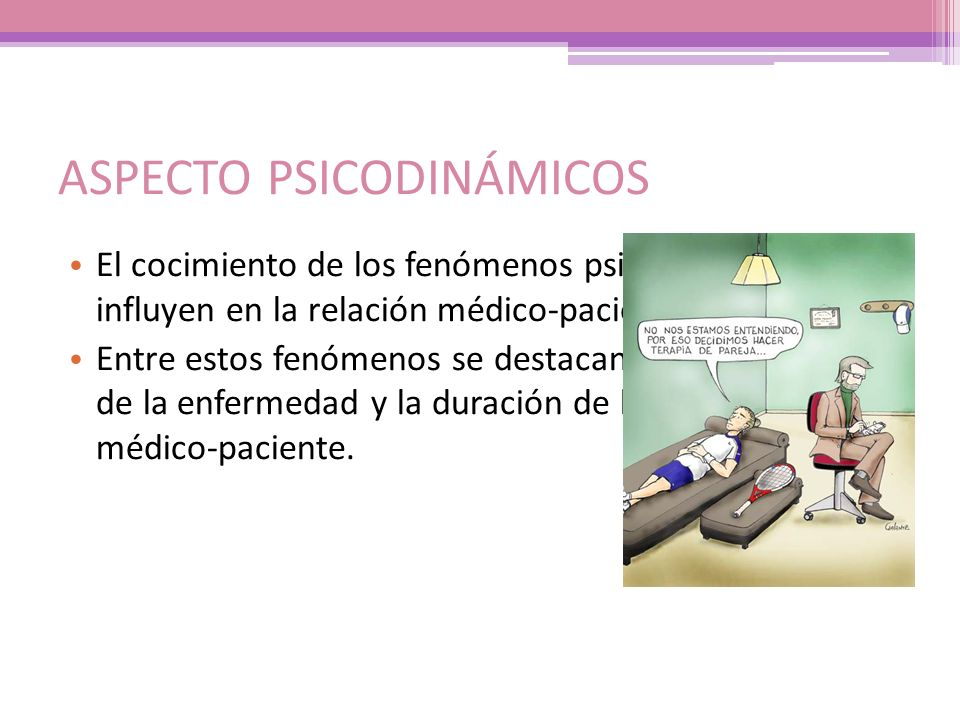 ASPECTO PSICODINÁMICOS