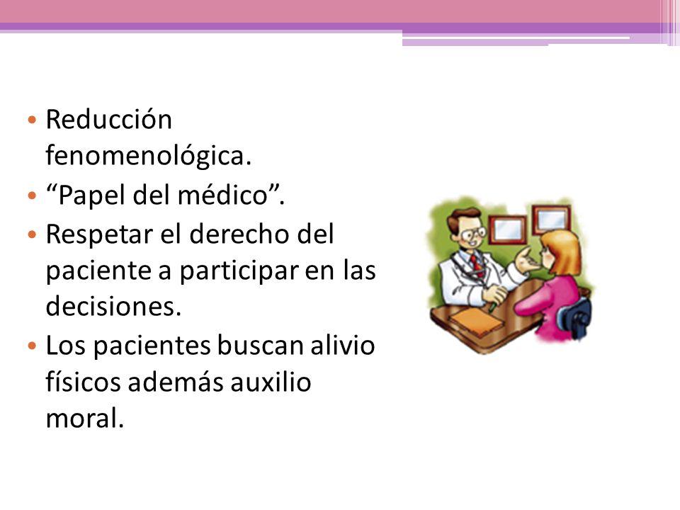 Reducción fenomenológica.