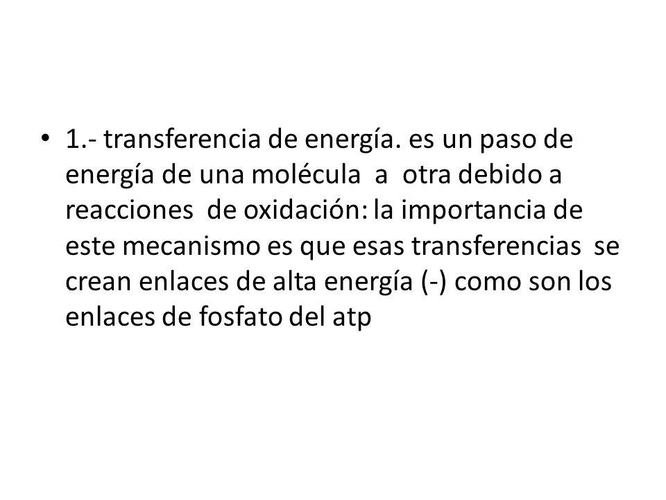 1. - transferencia de energía