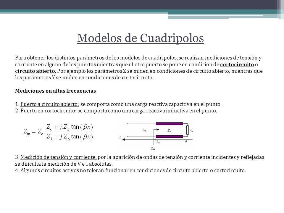 Modelos de Cuadripolos