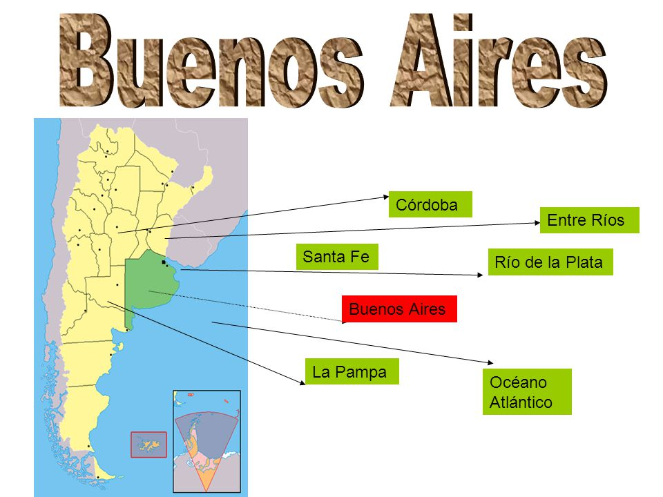 Buenos Aires Córdoba Entre Ríos Santa Fe Río de la Plata Buenos Aires