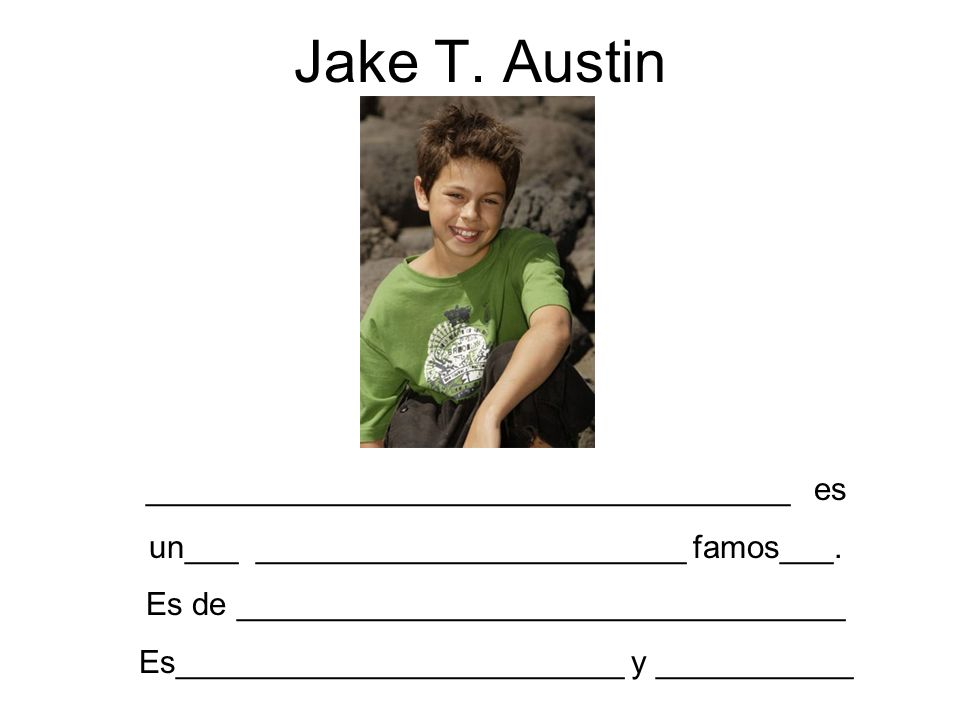 Jake T. Austin ____________________________________ es