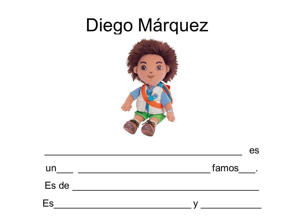 Diego Márquez ____________________________________ es