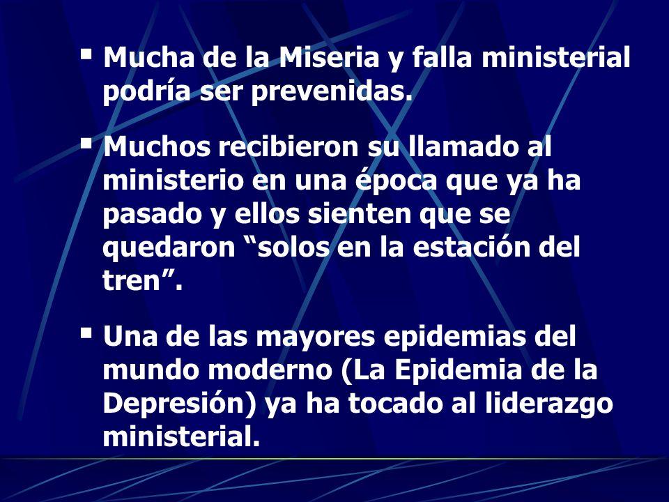 Mucha de la Miseria y falla ministerial podría ser prevenidas.