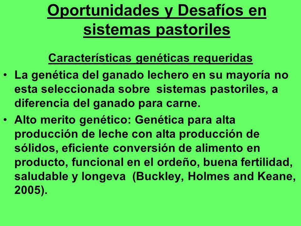 Oportunidades y Desafíos en sistemas pastoriles