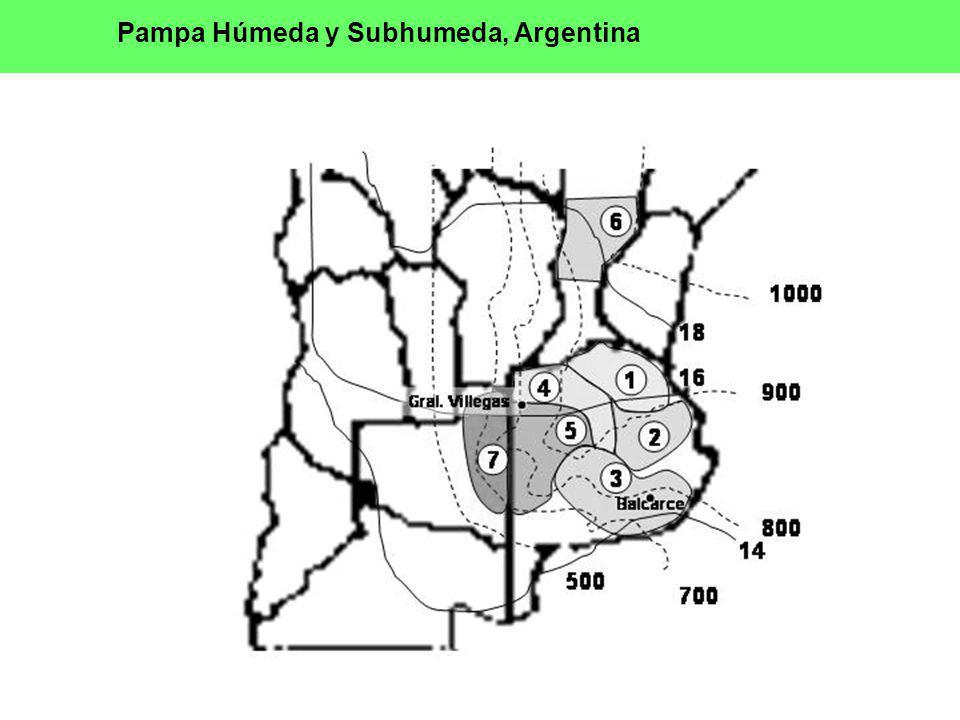 Pampa Húmeda y Subhumeda, Argentina
