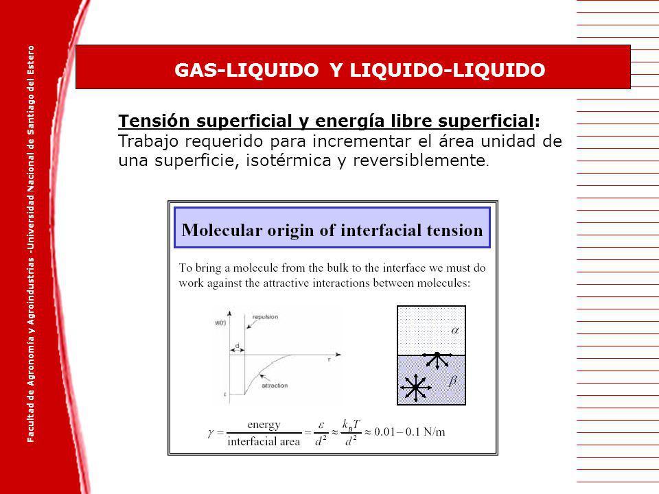 GAS-LIQUIDO Y LIQUIDO-LIQUIDO
